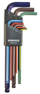 Bondhus Ball End L-Wrench ColorGuard Finish - 69499