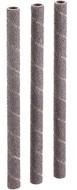 "Shop Fox 1/4"" Dia. x 5"" 80 Grit Aluminum Oxide Hard Sanding Sleeve, 3 Pack - D1401"
