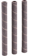"Shop Fox 1/2"" Dia. x 6"" 100 Grit Aluminum Oxide Hard Sanding Sleeve, 3 Pack - D1422"