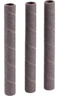 "Shop Fox 5/8"" Dia. x 6"" 80 Grit Aluminum Oxide Hard Sanding Sleeve, 3 Pack - D1426"