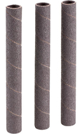 "Shop Fox 5/8"" Dia. x 6"" 120 Grit Aluminum Oxide Hard Sanding Sleeve, 3 Pack - D1428"