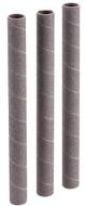 "Shop Fox 3/4"" Dia. x 9"" 80 Grit Aluminum Oxide Hard Sanding Sleeve, 3 Pack - D1441"