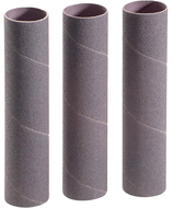 "Shop Fox 2"" Dia. x 9"" 80 Grit Aluminum Oxide Hard Sanding Sleeve, 3 Pack - D1491"