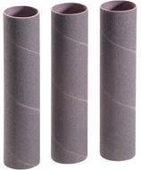 "Shop Fox 2"" Dia. x 9"" 120 Grit Aluminum Oxide Hard Sanding Sleeve, 3 Pack - D1493"