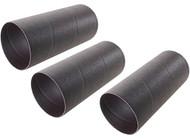 "Shop Fox 4"" Dia. x 9"" 120 Grit Aluminum Oxide Hard Sanding Sleeve, 3 Pack - D4640"