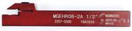 "Precise MEGHR08-2A  1/2"" Shank External Grooving ToolHolder - 2207-0500"