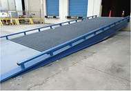 """Bluff Manufacturing Steel Yard Ramp 96"""" Wide, 30000 lbs. Capacity - H30SYS9630NU"""