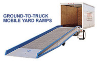 """Bluff Manufacturing Mobile Steel Yard Ramp 84"""" Wide, 20000 lbs. Capacity - H20SYS8436L"""