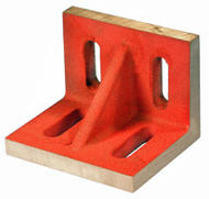 "Suburban Slotted Angle Plate, Webbed, Ground Finish, 3-1/2"" x 3"" x 2-1/2"" - SAW-030302-G"