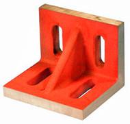"Suburban Slotted Angle Plate, Webbed, Ground Finish, 8"" x 6"" x 5"" - SAW-080605-G"