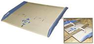 "Bluff Manufacturing 60""W x 36""L Steel Dock Board, 10,000 lb. Capacity - H10SC6036"