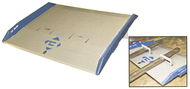 "Bluff Manufacturing 72""W x 36""L, Steel Dock Board, 10,000 lb. Capacity - H10SC7236"