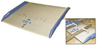 "Bluff Manufacturing 72""W x 60""L, Steel Dock Board, 20,000 lb. Capacity - H20T7260"