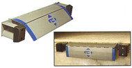 """Bluff Manufacturing Edge of Dock Leveler, 66"""" Usable Width 25,000 lb. Capacity - H25EP66"""