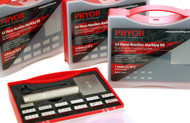 Pryor 54 Piece Steel Type Number Marking Kits