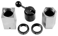 Precise 4 Piece Hex & Square 5C Collet Block Set - 3900-1620