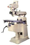 "Victor Variable Speed Vertical Knee Mills, 10"" x 50"" Table"