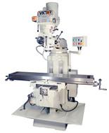 "Victor Variable Speed Vertical Knee Mill, 11.81"" x 59"" Table - VJF-5VSL"