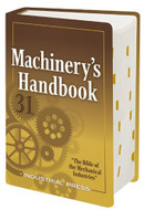 Industrial Press 31st Large Print Edition Machinery Handbook - 3100-LP