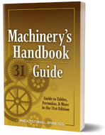 Industrial Press 31st Edition Machinist's Guide - 3100-MG