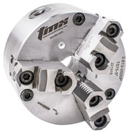 TMX 3-Jaw Front Mount Scroll Chucks with 2pc Jaws