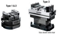GS Tooling Multi-Tasking Modular Vises for 5-Axis Machining Centers