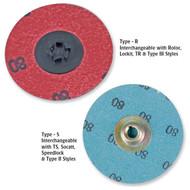 TRU-MAXX Aluminum Oxide Quick-Change Sanding Discs