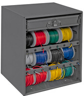 Durham MFG. Mobile Wire Spool Carts and Racks