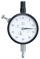 "Mitutoyo Dial Indicator, AGD/ANSI, Lug Back, 0.125"" Range, 0.0005"" Graduation - 2922S"