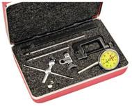 Starrett Universal Back Plunger Dial Indicator, 5mm Range, 0-50-0 Dial Face, 0.02mm Graduation - 196MA5Z