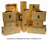 Suburban Tool Wooden Storage Cases