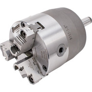 TMX 3-Jaw (2 Piece) Rotating Chuck Steel Body MT5 Shank 6in Chuck - 3-860-0600P