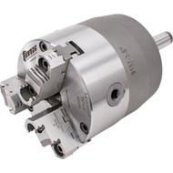 TMX 3-Jaw (Solid) Rotating Chuck Steel Body MT4 Shank 5in Chuck - 3-860-0501P