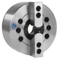 TMX 2-Jaw Large Hole Power Chuck, Plain Back, 6 inch - 3-782-0600