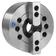 TMX 2-Jaw Large Hole Power Chuck, Plain Back, 8 inch - 3-782-0800