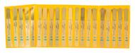 "Precision Brand 20 Pc. 5"" Brass Poc-Kit® Thickness Gage Set #76740, 0.001 to 0.03"" Thickness - 61-678-9"