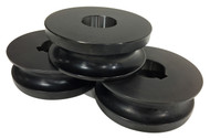 """Baileigh 1"""" Round Tube Rolls for R-M55 (SRTR-M55-25.4) - 1007582"""