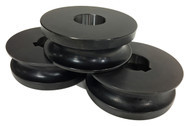 """Baileigh 1-7/8"""" Round Tube Rolls for R-M55 (SRTR-M55-47.625) - 1017621"""