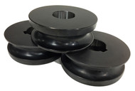 """Baileigh 1-1/2"""" Round Tube Rolls for R-M55 (SRTR-M55-38.1) - 1007586"""