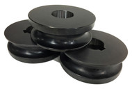 """Baileigh 1"""" Round Pipe Rolls for R-M55 (SRPR-M55-33.4) - 1007459"""