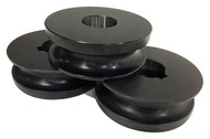 """Baileigh 1-1/4"""" Round Pipe Rolls for R-M55 (SRPR-M55-42.16) - 1007460"""