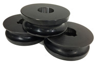 """Baileigh 1-1/2"""" Round Pipe Rolls for R-M55 (SRPR-M55-48.26) - 1007461"""