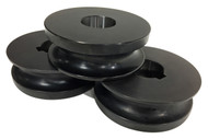 """Baileigh 2"""" Round Pipe Rolls for R-M55 (SRPR-M55-60.325) - 1007462"""