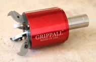Large Grippall™ Four Finger CNC Bar Puller, 40mm Round Mounting Shank - GA-M-40MR4F
