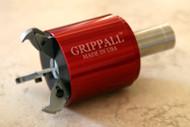 Large Grippall™ Three Finger CNC Bar Puller, 32mm Round Mounting Shank - GA-M-32MR3F