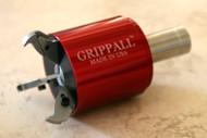 Large Grippall™ Three Finger CNC Bar Puller, 40mm Round Mounting Shank - GA-M-40MR3F