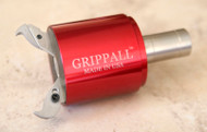 Large Grippall™ Two Finger CNC Bar Puller, 32mm Round Mounting Shank - GA-M-32MR2F