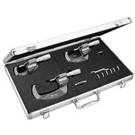 Starrett Electronic Micrometer Set of 3, EDP 72534 - S795.1AXFLZ