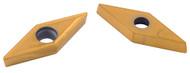 Precise VCMT-21.51 Diamond 35º TiN Coated Carbide Insert - 6005-3405
