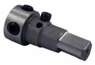 "TMX Annular Cutter Holder, Straight Shank 3-Flats, 1/2 x 3/4 x 2-1/8"" - 8-562-9100"